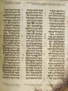 Ruth 1 from the Aleppo Codex