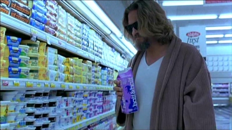 "Jeff Bridges as Jeffrey Lebowski (aka ""The Dude"") in The Big Lebowski"
