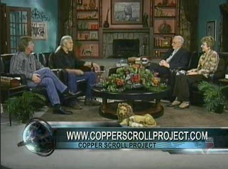 Jim Barfield on GLC talking about the Copper Scroll Project.