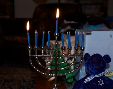 Hanukkah 2009, night one