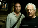 Robert Cargill and Ronny Reich in the drainage tunnels leading from the Jerusalem Temple Mount to the Kidron Valley.