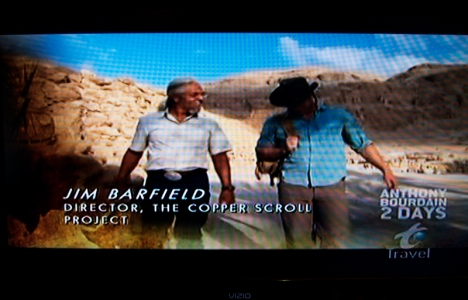 Jim Barfield and Michael Arbuthnot on the Travel Channel