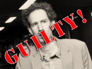 Dr. Raphael Golb, son of University of Chicago Oriental Institute historian Dr. Norman Golb, was found guilty on 51 felony and misdemeanor counts of identity theft, forgery, criminal impersonation, aggravated harassment, and the unauthorized use of a computer in the Criminal Division of the New York Supreme Court, September 30, 2010.
