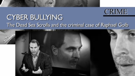 Dr. Robert R. Cargill is interviewed for UCLA News Week about the Raphael Golb criminal case.