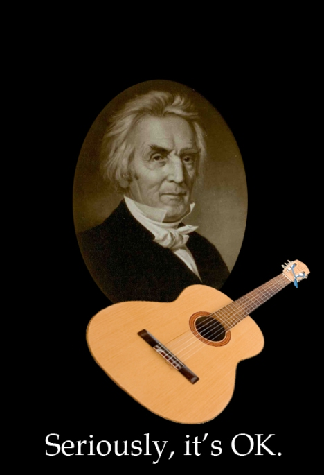 Alexander Campbell and a Guitar