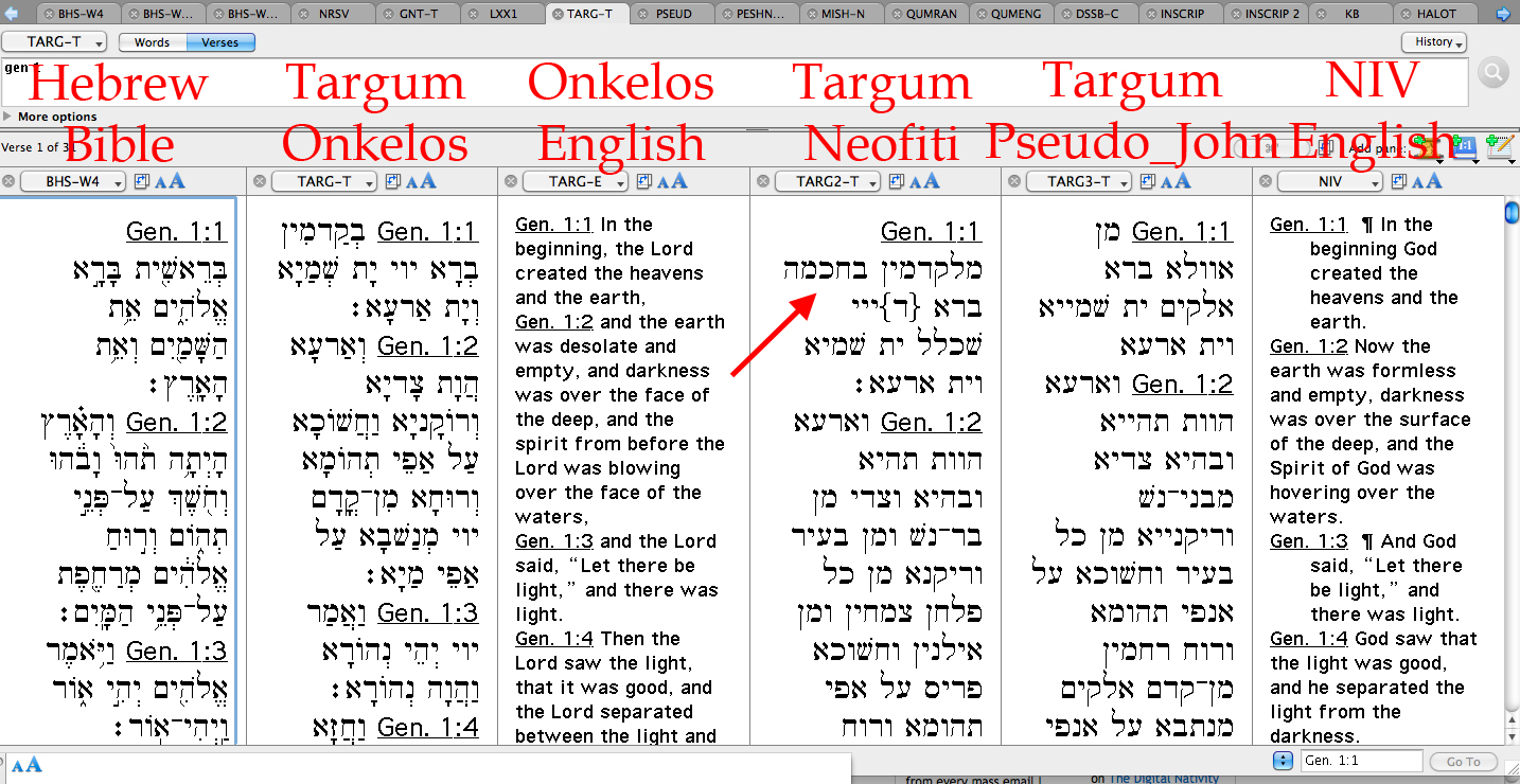 How Not To Read Targum Neofiti Xkv8r The Official Blog
