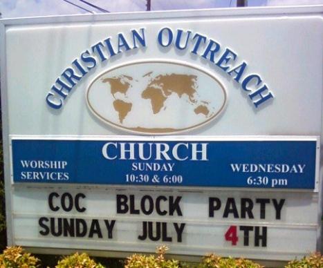 CoC Block Party