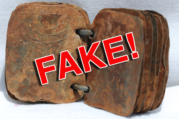 Jordan Lead Codices are fakes.