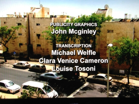 """John McGinley Publicity Graphics Credits from Simcha Jacobovici's """"Resurrection Tomb Mystery"""""""