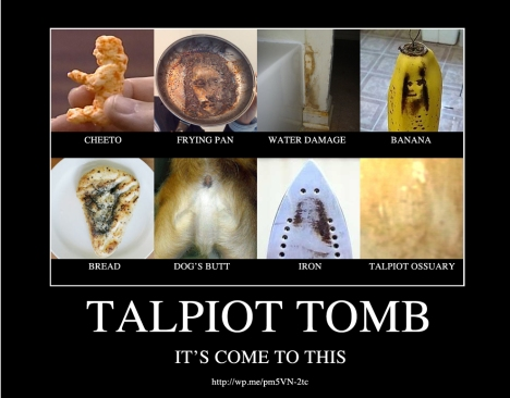 The Talpiot Tomb: It's Come to This
