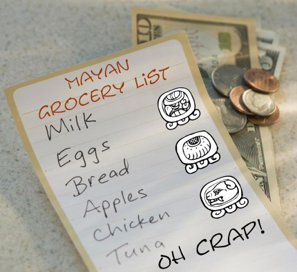 Mayan Grocery List