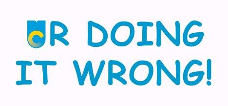 UR DOINT IT WRONG (New UC Logo)