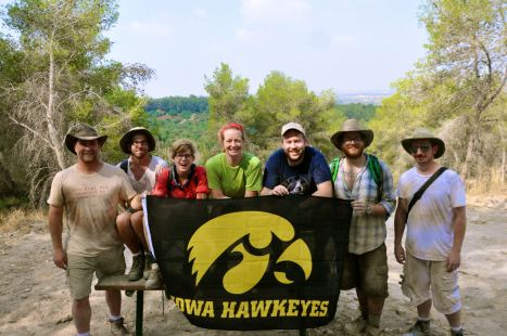Iowa students and staff participate in the 2012 excavations at Azekah.