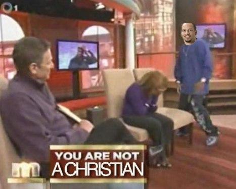 Chris Broussard - NOT a Christian