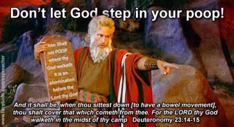 Deuteronomy 23:12-14
