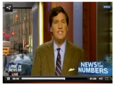 "Fox News personality Tucker Carlson refers to ""intersex...whatever that is""."