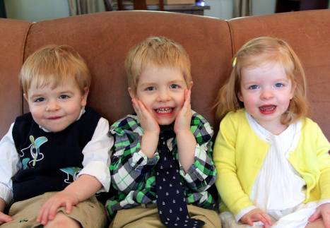 Quincy (1), MacLaren (3), and Rory Kate (1)